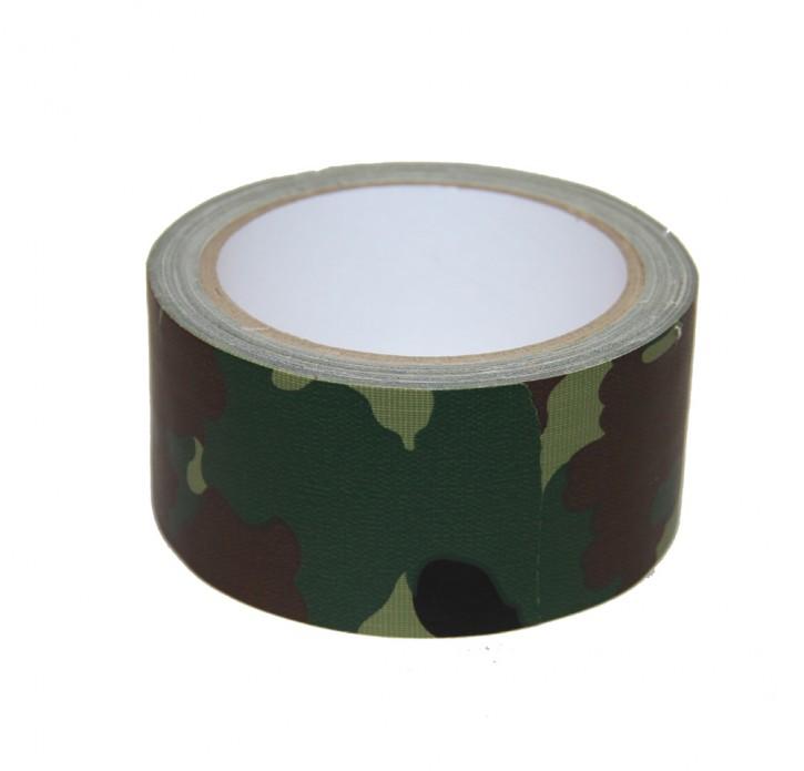 10 Meter Panzerband Gewebeband, Farbe Flecktarn Camoflage