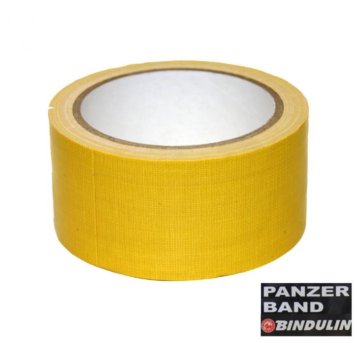 10 Meter Panzerband Gewebeband, Farbe gelb