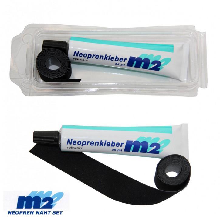 Neopren Nahtband 25mm x 950mm zum Aufbügeln