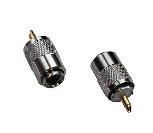 Spartechnik PL-Stecker Stecker PL 259/9 für RG-213U, RG-213 Koaxkabel