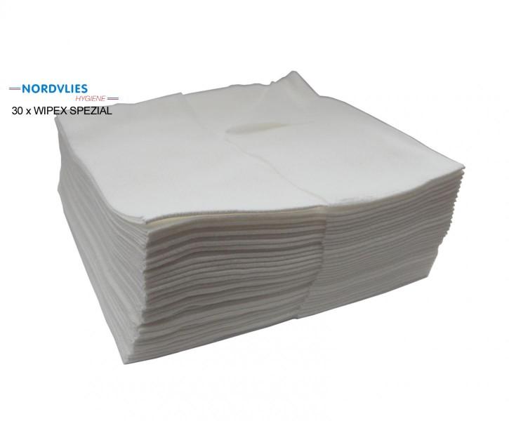 30 x WIPEX SPEZIAL Wisch- und Poliertuch - weich wie Baumwolle Das textilähnliche Polier- und Wischtuch besteht zu 100% aus Natur-Viskose