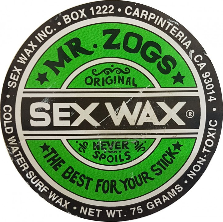 Mr.Zogs Surfwachs  SEX WAX - 75 Gramm grün