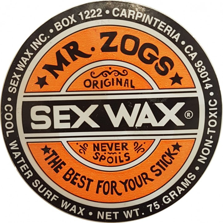 Mr.Zogs Surfwachs SEX WAX - 75 Gramm - orange