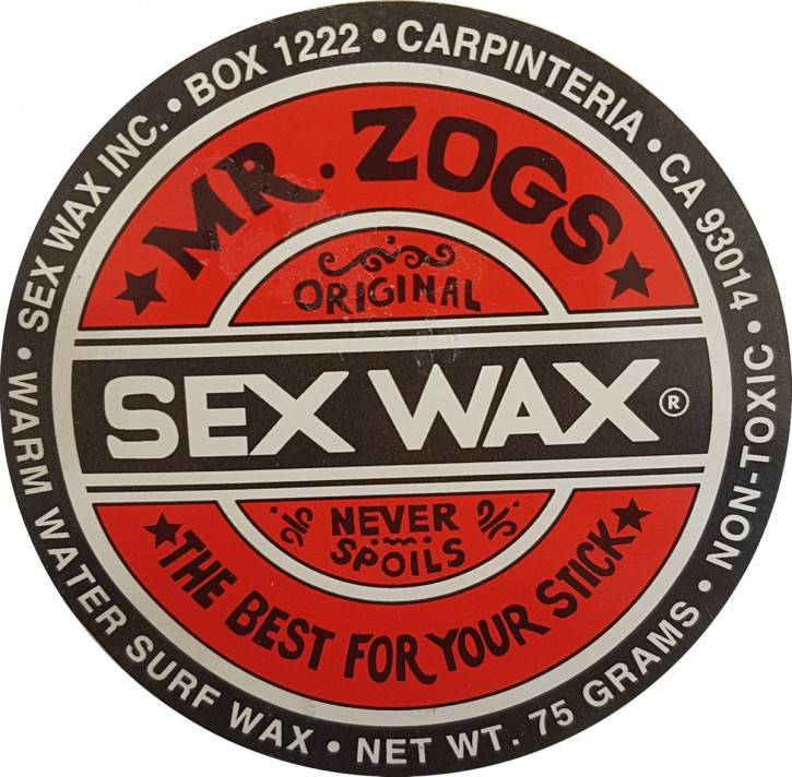 Mr.Zogs Surfwachs SEX WAX - 75 Gramm - rot.