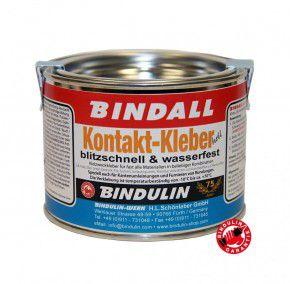 Kontaktkleber BINDALL, 350 g - Bindulin Profipack hell Neoprenkleber wasserfest geruchsarm für  Neopren Holz Glas Leder Keramik Filz Gummi Plexidur..