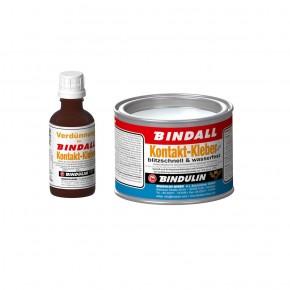 Bindulin KontaktKleber BINDALL 350g + Verdünnung 50ml