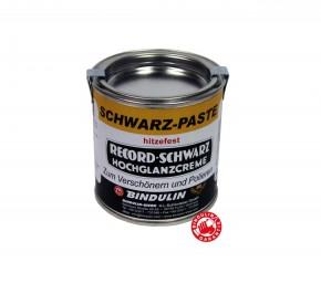RECORD-SCHWARZ Schwarzpaste  200 ml Dose SB  Farbe: schwarz