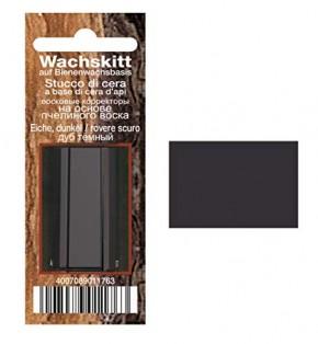 Bindulin Wachskitt Eiche-dunkel farbenes Kitt