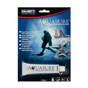 McNett AquaSure mit Pinsel Reparatur Angelartikeln Wassergeräten Tauchgerät 28ml