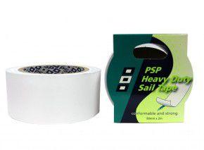 Ascan PSP Segeltape Segel Reparaturband in Schwerer Ausführung 50mm x 200mm, Heavy Duty SAIL für Reparatur Surfsegel & Yachtsegel weiß - White