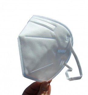 5 Stück Desi-Vir Schutzmasken: Schutzklasse FFP2 Mund-Nasen Maske mit hohem Schutz, Packung mit 5 Stück FFP 2