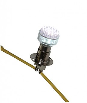 Sockel für Lampe Positionslampe BA-15D rund.