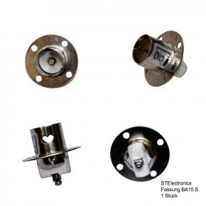 Sockel für Lampe Positionslampe BAS-15D rund
