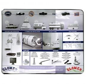 GLOMEX VT300 AVIOR analog & digital DVBT TV & RADIO Fernseh & Radio Antenne
