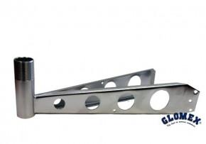 Glomex V9173 Antennen Masthalter mit Armlänge 29 cm