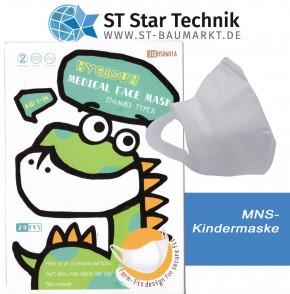 20 Schutzmaske Desi-Vir Kindergröße – Mund-Nasen-Schutz Maske für Kinder - BOY