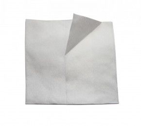 40 Stück Viskose Politurtücher für Waffenpflege Waffenpflegetuch Reinigungstuch weiß, lösungsmittelbeständig, saugstark, fusselfrei, mehrfach verwendbar, 38 x 35 cm