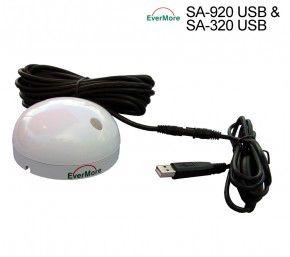 Evermore SA-920 USB: Marine 48 Kanal GPS Satelliten Empfänger,  -163dBm
