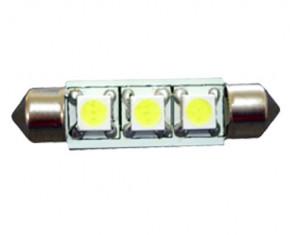 3 SMD LED Soffitten Lampe für 10 - 24 Volt