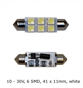 LED Soffittenlampe mit 6 Miniatur SMD