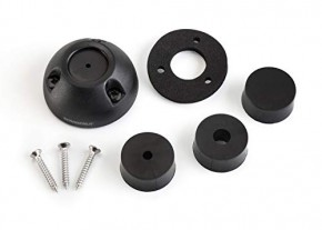 Scanstrut Deck Seal DS30-P, schwarz Decksdurchführung