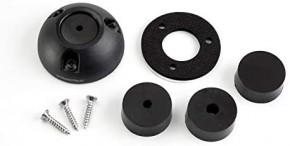 Scanstrut Deck Seal DS21-P, schwarz Decksdurchführung.