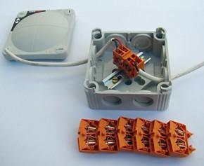 Scanstrut Deluxe Kabelbox SB-8-10, wasserdicht nach IP66,